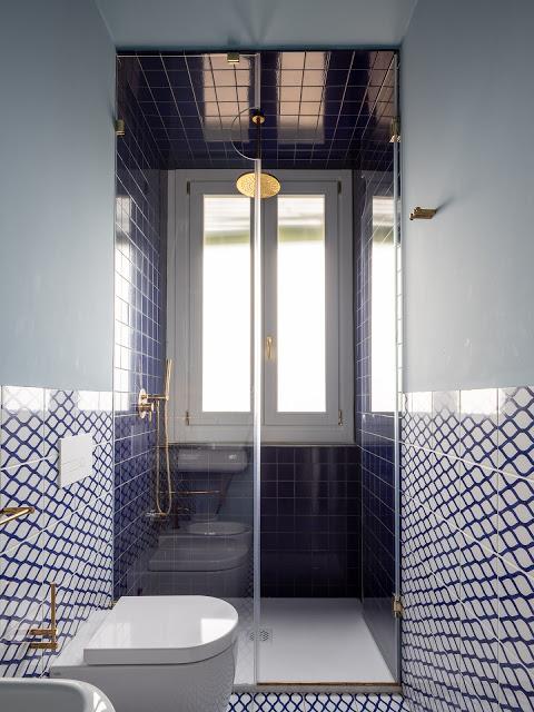 villa a Ragusa - Carcara bagno colore bl