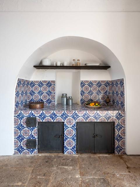 villa a Ragusa - Carcara cucina tipica maioliche siciliane