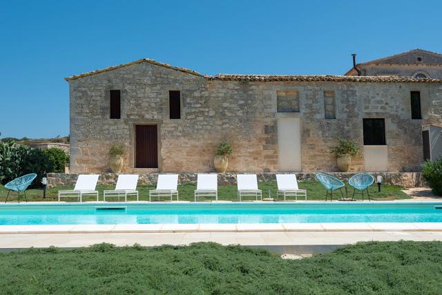 villa a Ragusa - Carcara piscina