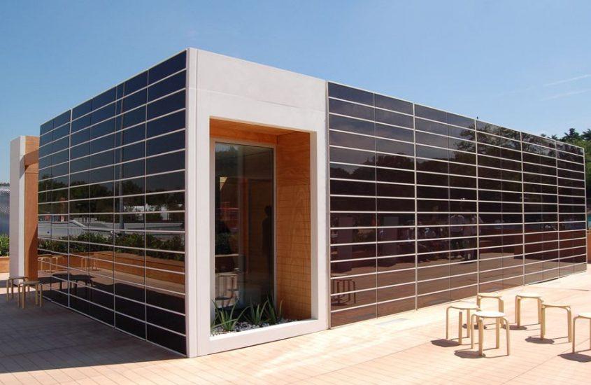 Pannelli fotovoltaici: architettura e design