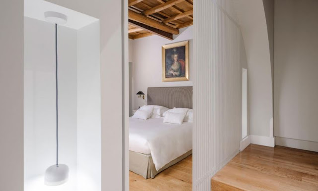 design hotel Roma - tetto