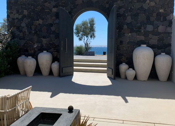 design hotel in Santorini