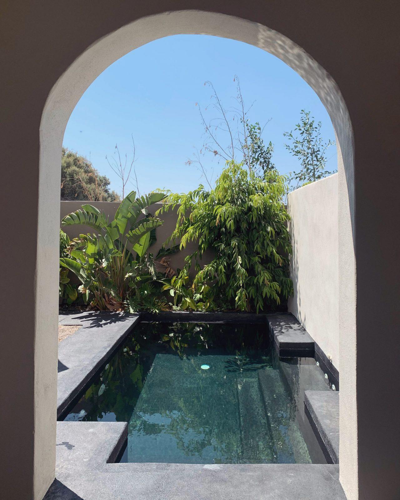 piscina in camera