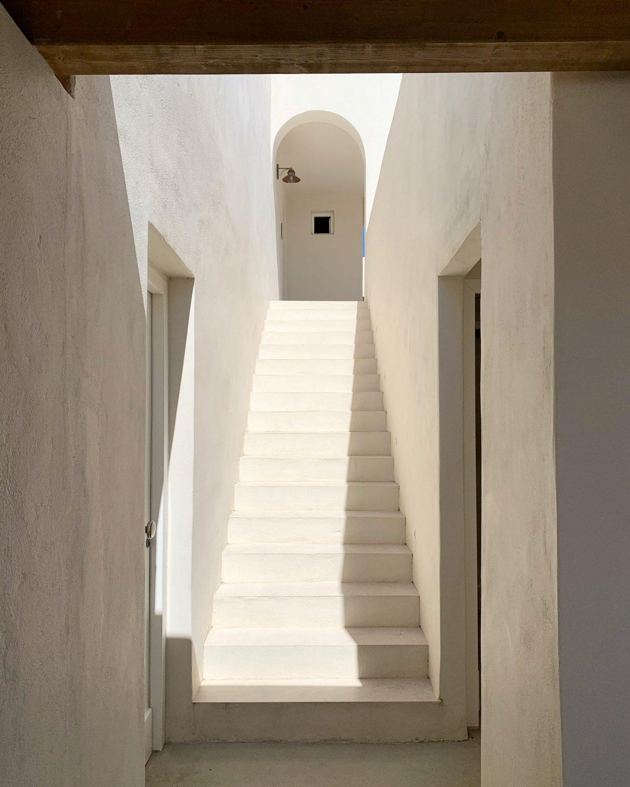 scala accesso suite al piano superiore