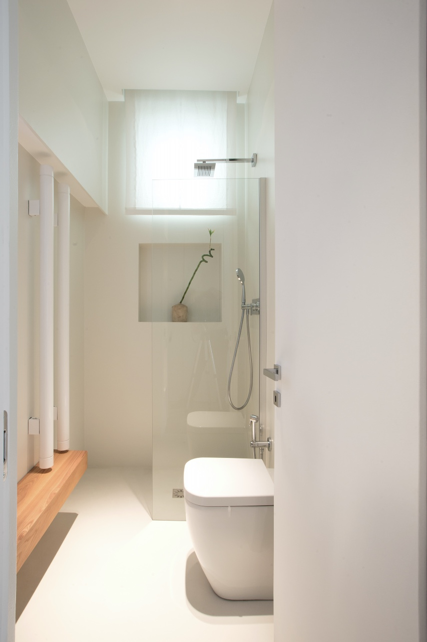Casa Cetara bagno bianco