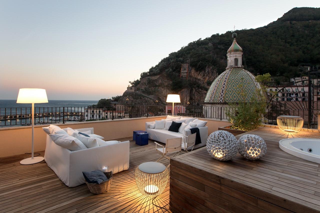 Casa Cetara rooftop