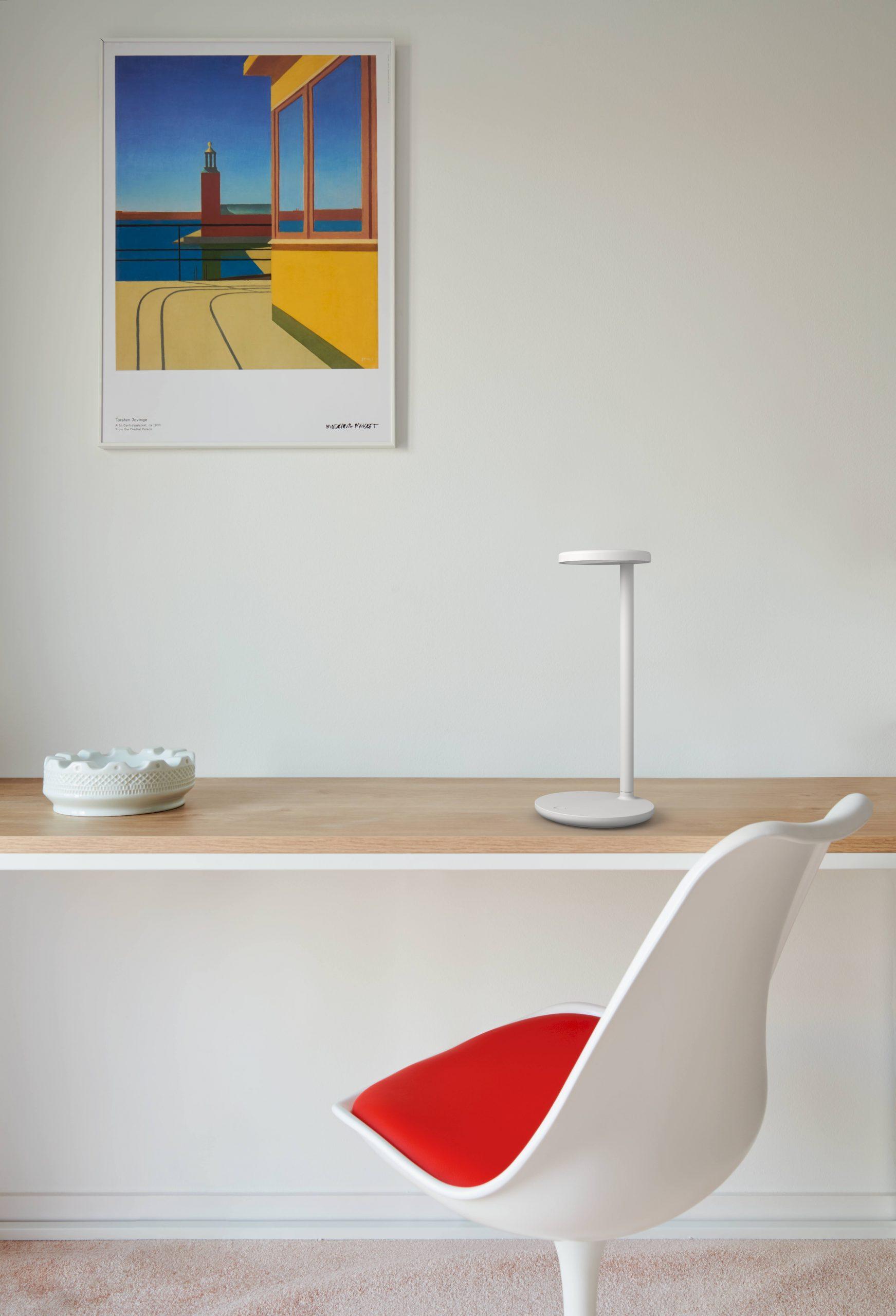 Design e tecnologia, Oblique ambiente moderno.